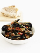 Saucy Mussels