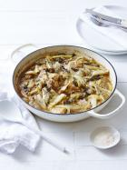 Slow roasted chicken with fennel